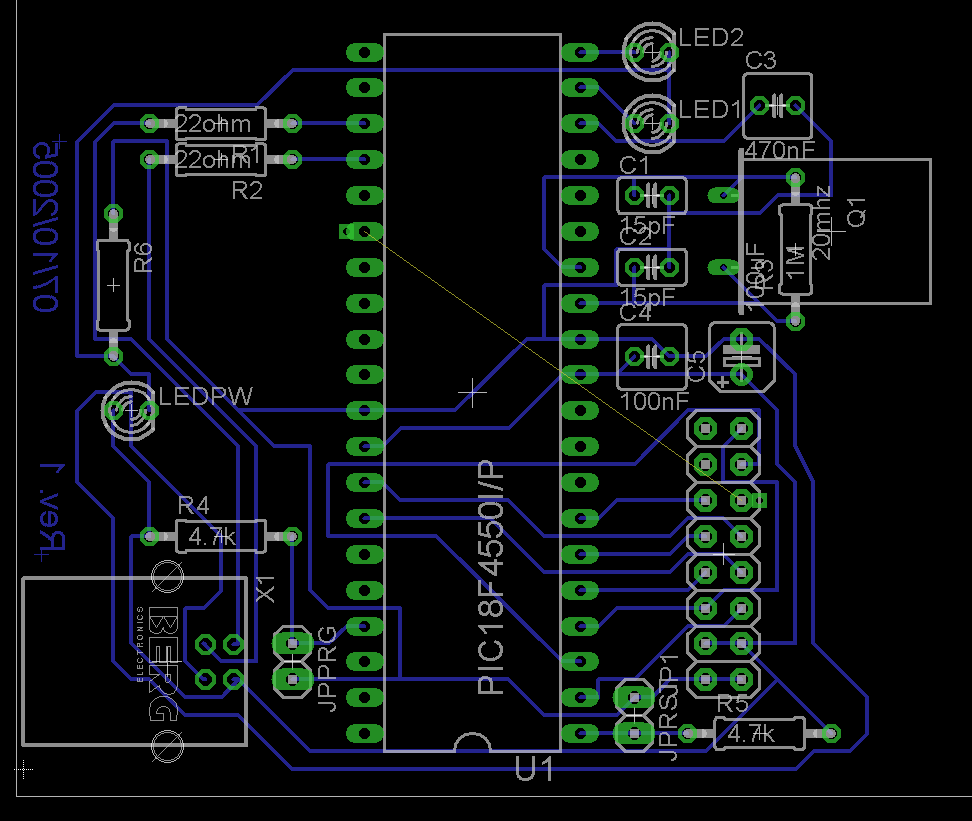 My Project's PCB Board Layout