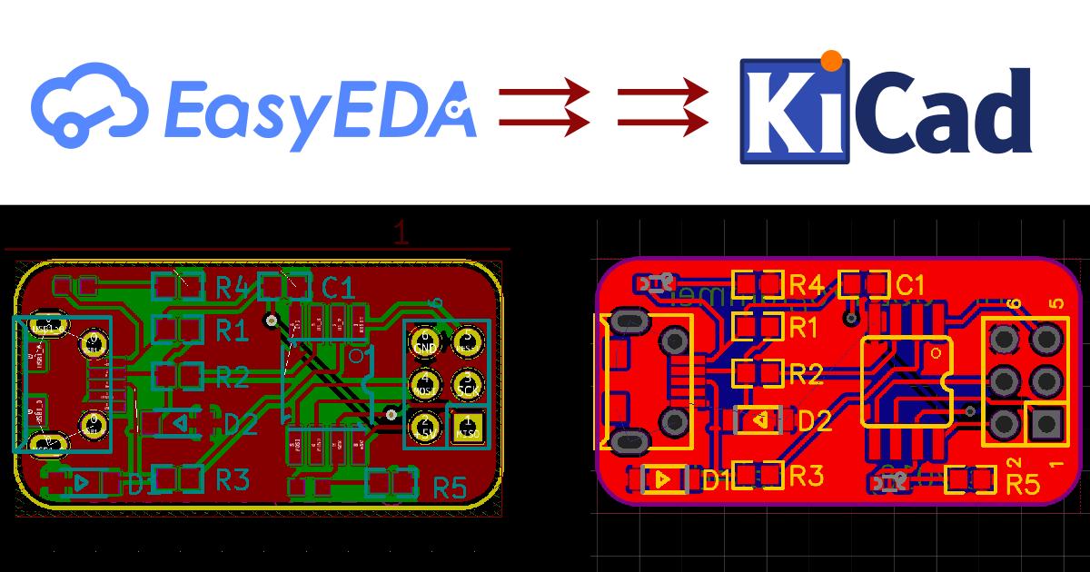 Introducing Easyeda 2 Kicad