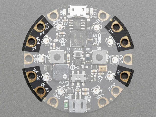Capacitive touch pads